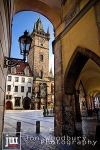 """Onto Old Town Square"" - Prague, Czech Republic"