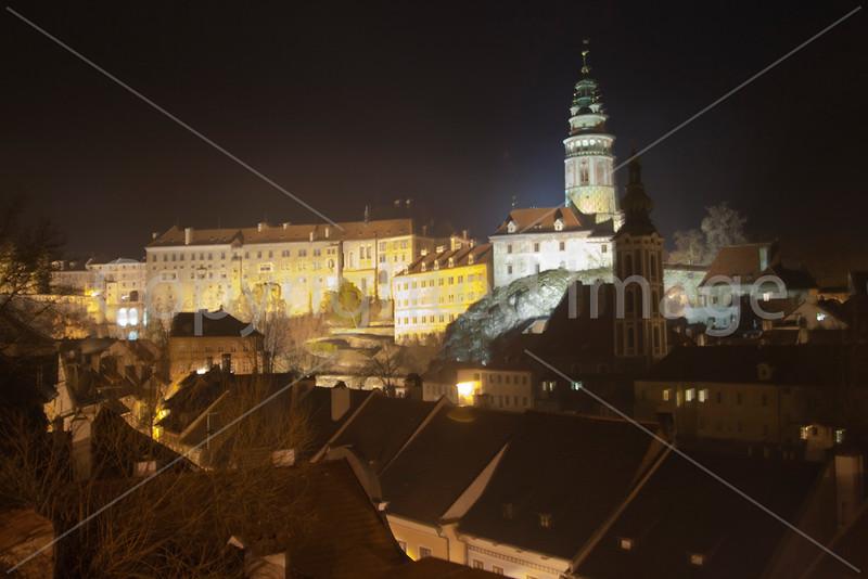 Night in Cesky Krumlov