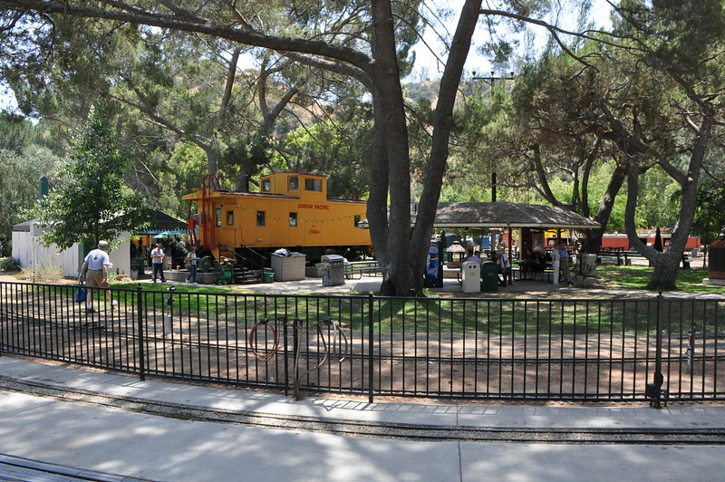 The live steamers end of the park.