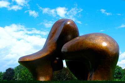 Henry Moore Sculpture Sheep Piece
