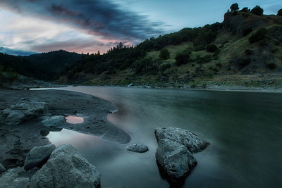 Eel River near Spy Rock CA May 2014