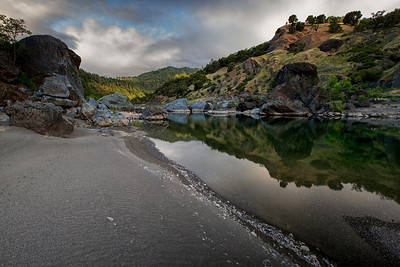 Eel River near Spy Rock, CA May 2014