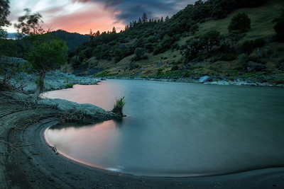 Eel River long exposure. May 2014
