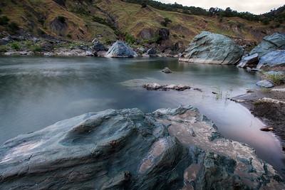 Eel River near Spy Rock, CA May 2014