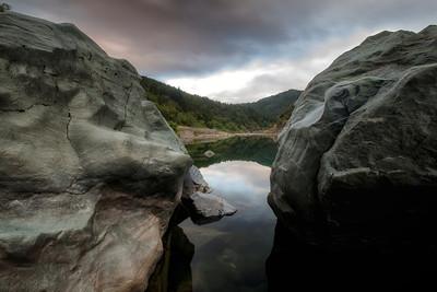 Eel River near Spy Rock May 2014