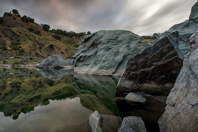 Eel River. Spy Rock, CA. May 2014