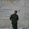 Tomb of the Unknown Soldier, Athens, Greece<br /> <br /> In front of the Parliament Building is the Tomb of the Unknown Soldier. The monument, with a large relief depicting a nude, dying hoplite, was inaugurated on March 25, 1932, on the Greek day of independence. On either side of the tomb are excerpts from Pericles's famous funeral oration inscribed on the wall.