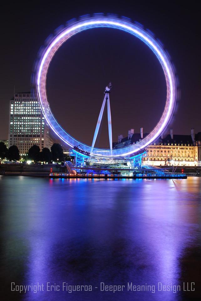 """The River's Eye""  London Eye - London, England"