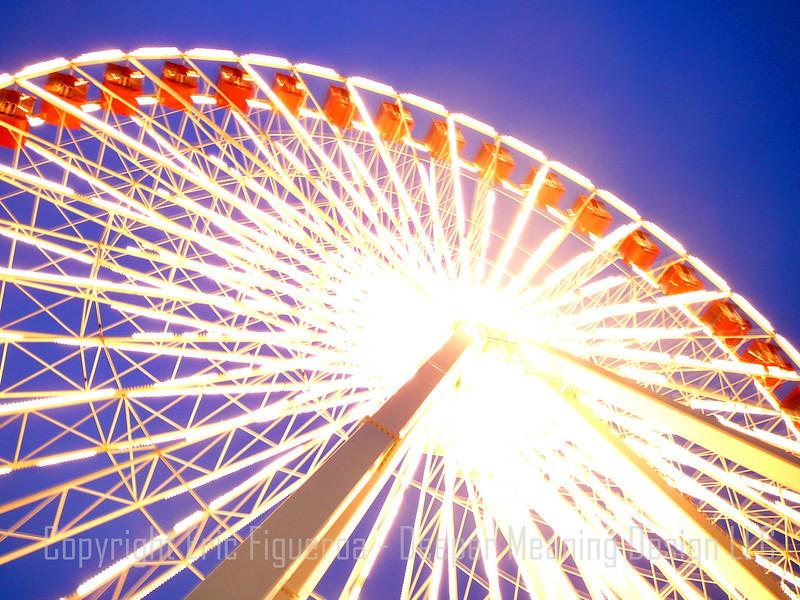 """""""Navy Wheel""""  Navy Peer  - Chicago, Illinois  U.S.A."""