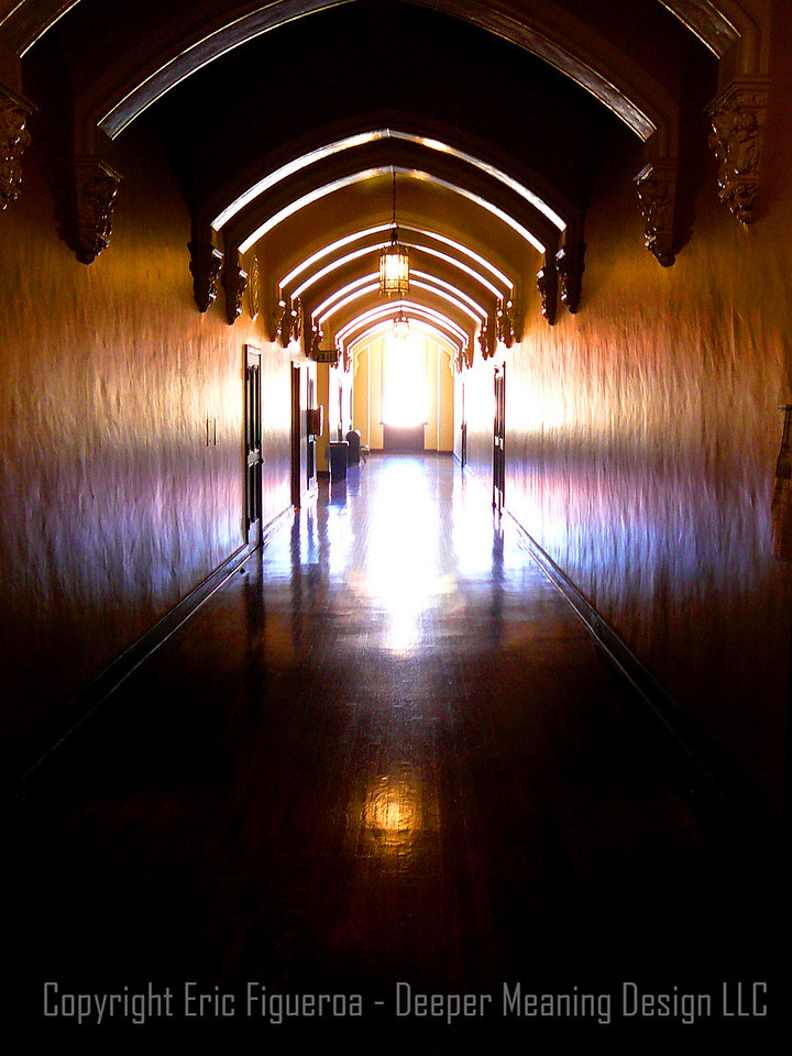 """Sacred Halls""  San Francisco, Califormia  U.S.A."