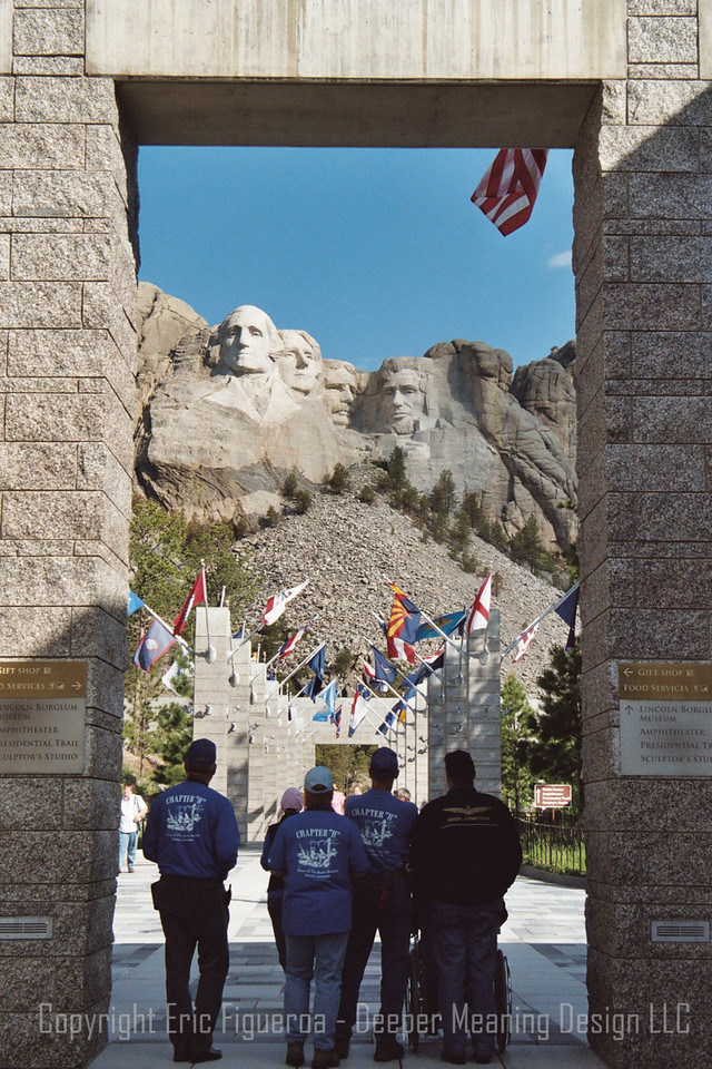 """The Mount""  Mount Rushmore, South Dakota  U.S.A."