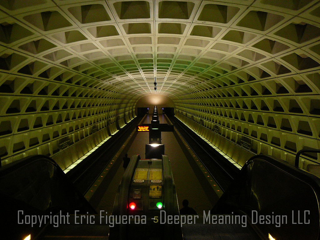"""The Metro""  Washington, D.C.  U.S.A."
