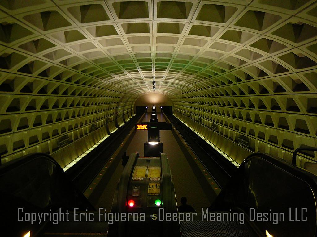 """The Metro""  Washington, D.C.  U.S.A."
