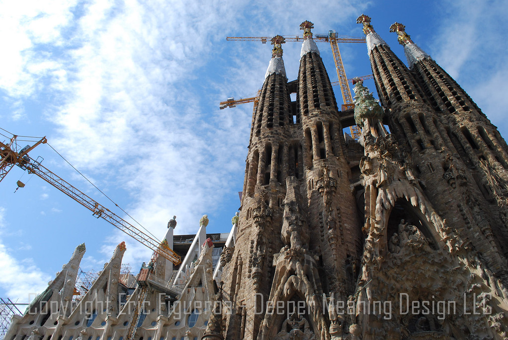 """Coral Castle""   Sagrada Familia  - Barcelona, Spain"