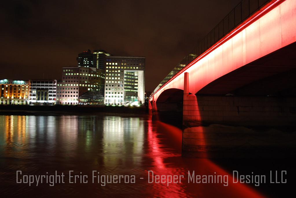 """A London Bridge""  London, England"