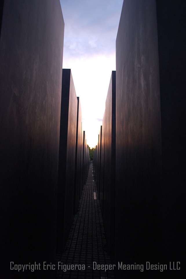 """Past and Present"" Holocaust Memorial  - Berlin, Germany"