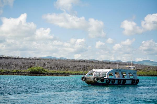 Ferry from Baltra Island to Santa Cruz