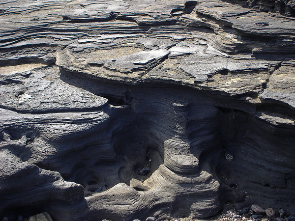 Lava rock formations