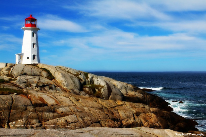 Lovely Peggy's Cove.
