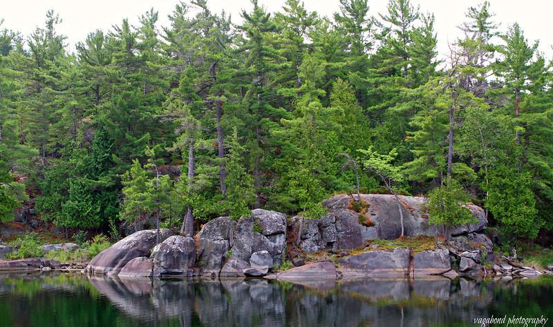 Dreamer's Rock, Birch Island.