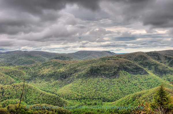 The Great Smoky Mountains and Blue Ridge Parkway