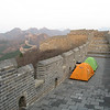 Sleeping on the Great Wall.  A dream come true.