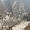 The steep descent into Simatai and the wooden suspension bridge crossing the Miyun Reservoir.