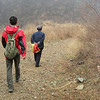 Cheney and I were led on a 'detour' courtesy of NoGo Bai Sr., a local farmer who hit us up for a tresspass fee.  That old dude could climb the hills with both hands behind his back and a cigarette clenched between his lips.  I was sucking wind...