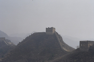 The beginning of the Jinshanling section of the Great Wall