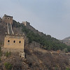 The beginning of the Western side of the Simatai Great Wall.