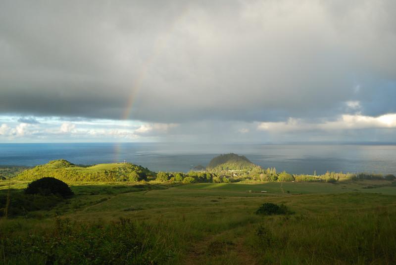Hana Town, from the upper Hana Ranch lands