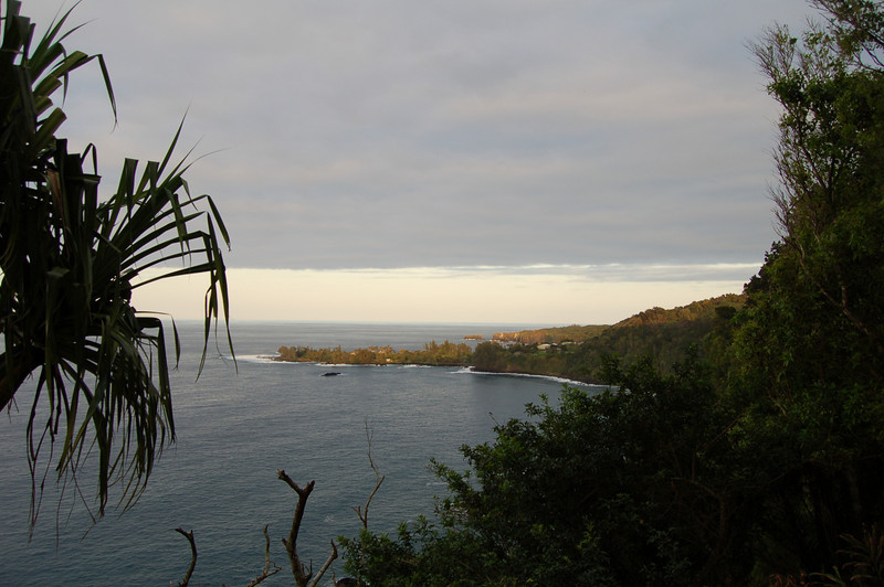Nua'ailua Bay towards Paepaemoana Point