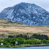 "One of the ""Paps"" of the island Jura.  George Orwell wrote his novel 1984  while living here in 1948.  The  ""paps"" are composed of quartzite."