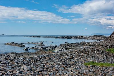 A slate beach, Easdale Island