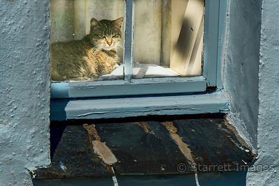 Slate is everywhere, used here as a window lintel.