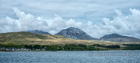 The Paps of Jura.  A pap is a breast shaped hill.
