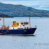 MS Glen Etive, our 12 passenger small ship, which had a truly wonderful crew of four and a chef, Michael, who produced absolutely gourmet meals that you would have been pleased to find in a fancy restaurant three times a day.