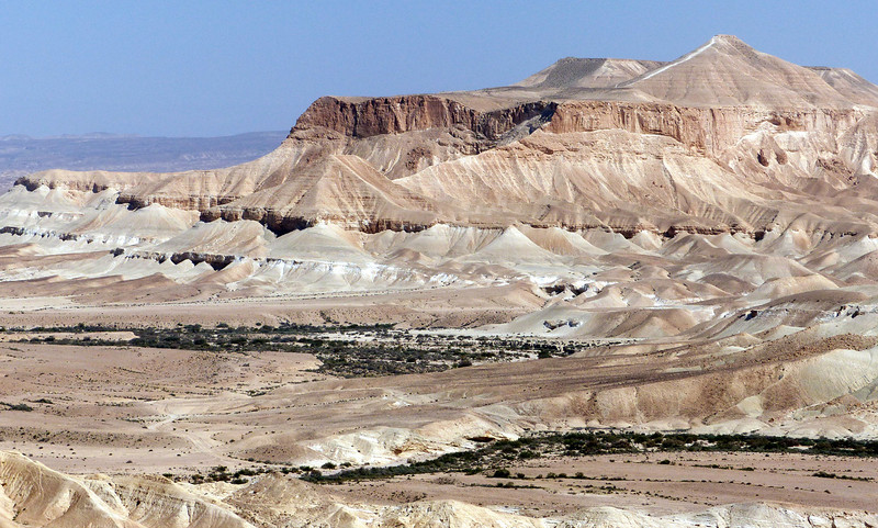 Section of Negev Desert