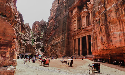 The Treasury at Petra
