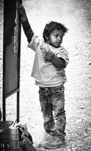 Arab boy in Petra, Jordan