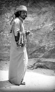 Jewelry Merchant, Petra, Jordan