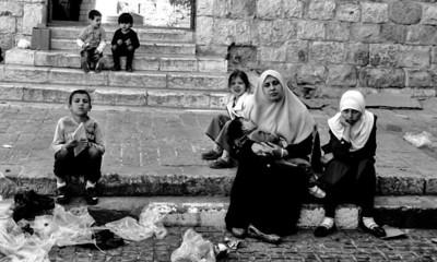 Arab section of Jerusalem