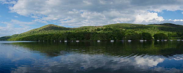 Lakeside panorama. The lake is Windermere of course.