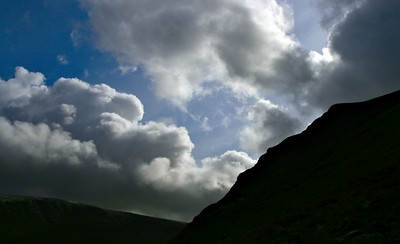 Sky over the crag