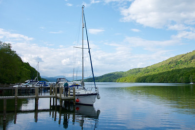 Lake Windermere, near Lakeside.