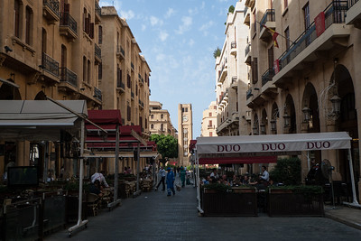 Beirut: recontructed downtown