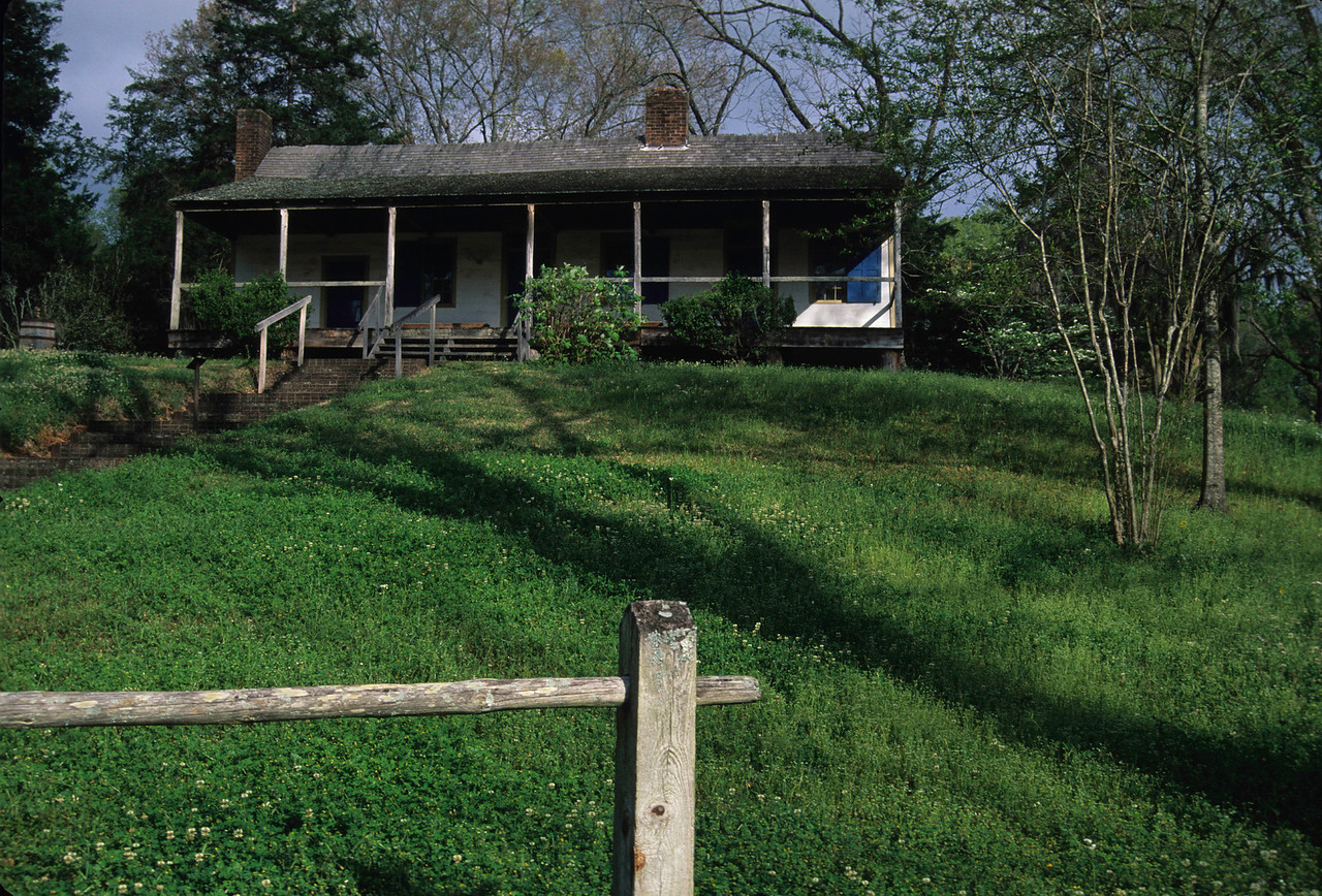Natchez Trace; Cabin where Meriwether Lewis committed suicide
