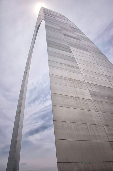 Jefferson National Expansion Memorial Gateway Arch