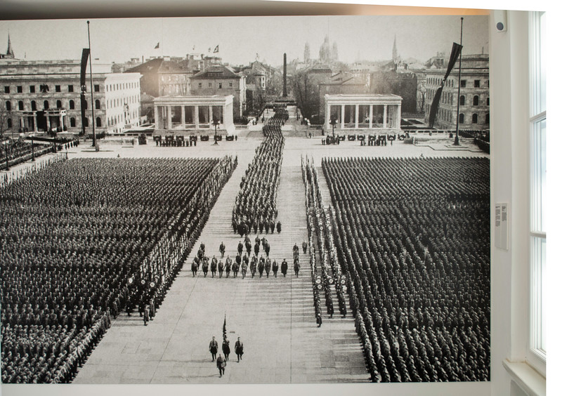 Hitler using King Ludwig's Royal Museum Square