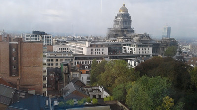 View from my room in Brussels